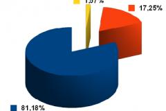 """Risultati: """"SI"""" 81,18% - """"NO"""" 17,25%"""
