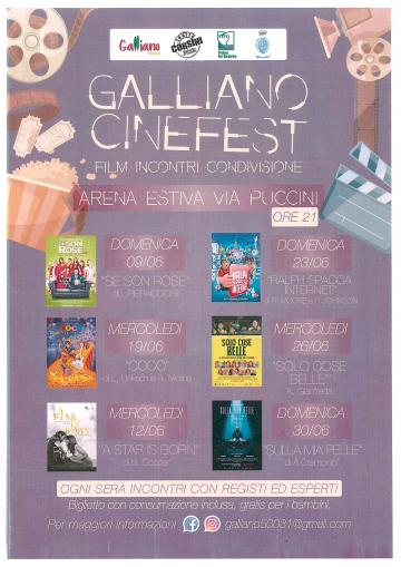 Galliano cinefest