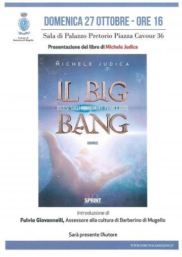 """Presentazione Judica libro """"Il Big Bang"""""""