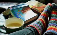 io leggo a casa